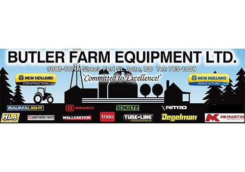 Butler Farm Equipment Ltd. Sponsor