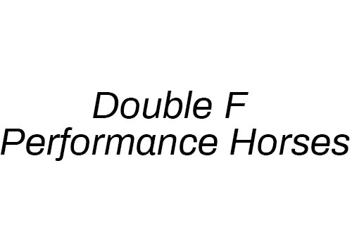 Double F Performance Horses