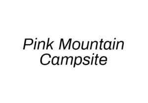 Pink Mountain Campsite